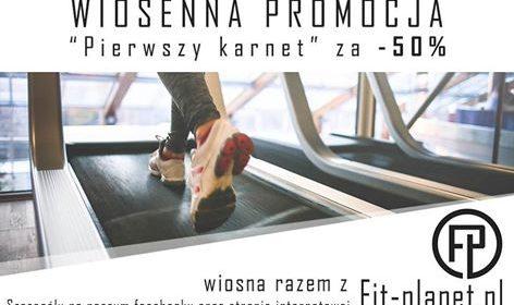Wiosna razem z Fit-planet.pl